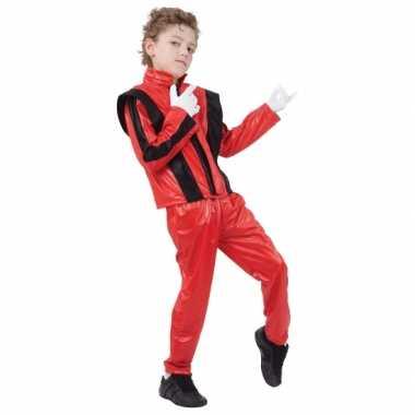 Rood michael carnavalskostuum kids