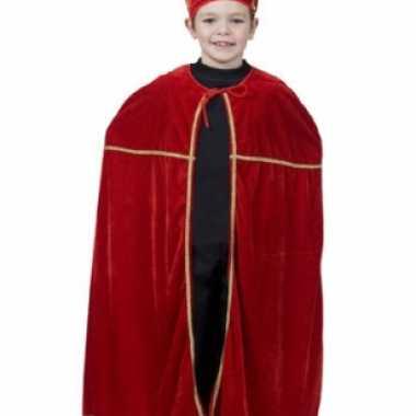 Rood sinterklaas kostuum voor kinderen