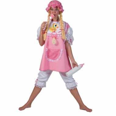 Roze babykostuum voor volwassenen