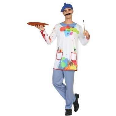 Schilder verkleed kostuum/kostuum voor heren