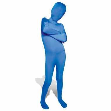 Kostuum kostuum blauw voor kids