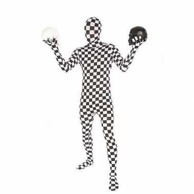 Kostuum kostuum geblokt