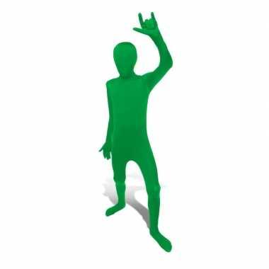 Kostuum kostuum groen voor kids