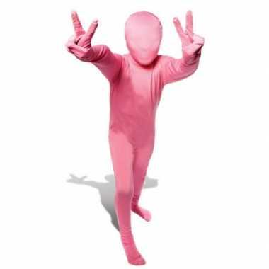Kostuum kostuum roze voor kids
