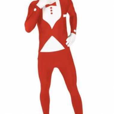 Kostuum kostuum smoking rood