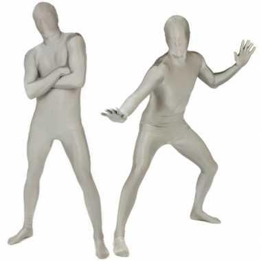 Kostuum kostuum volledig zilver