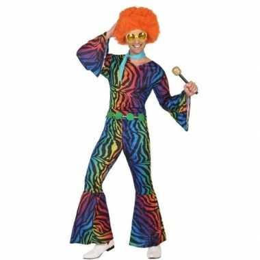 Seventies/disco kostuum voor heren