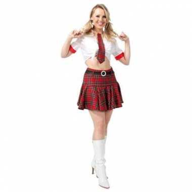 Sexy school kostuum voor dames