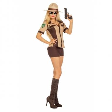 Sexy sheriff kostuum voor dames