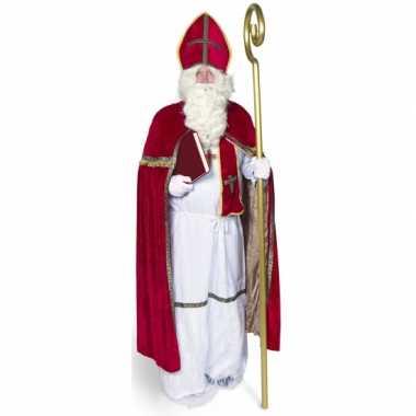 Sinterklaas verkleed kostuum voor volwassenen