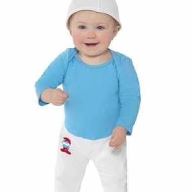 Smurfen kostuum voor baby's