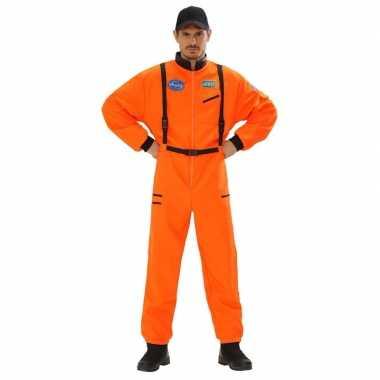 Space kostuuml oranje voor heren