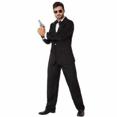 Spion/geheim agent kostuum voor heren