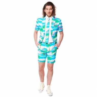 Summersuit flamingo voor heren