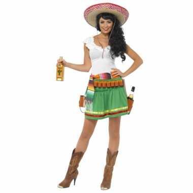 Tequila carnavalskostuum voor dames