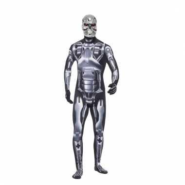 Terminator endoskeleton kostuum voor heren