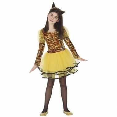 Tijgerin cara kostuum voor meisjes