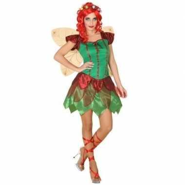 Kostuums Dames.Toverfee Elfen Jurkje Verkleed Kostuum Voor Dames