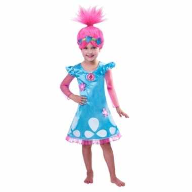 Trolls poppy kostuum voor meiden