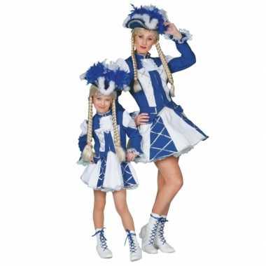 Twirl kostuum blauw voor meiden