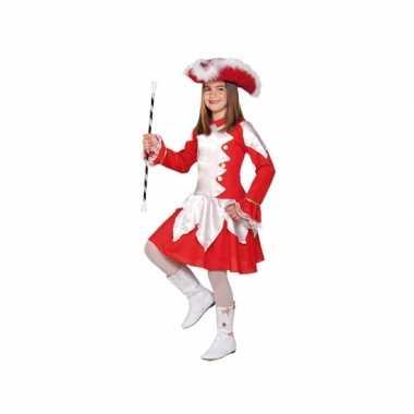 Twirl verkleedkostuum rood voor meiden