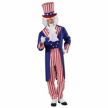 Uncle sam kostuum voor heren