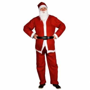 Voordelige kerstmannen kostuum