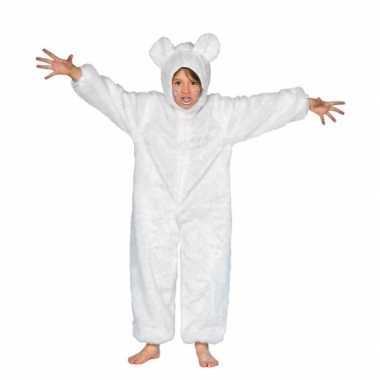 Wit berenkostuumje voor kinderen