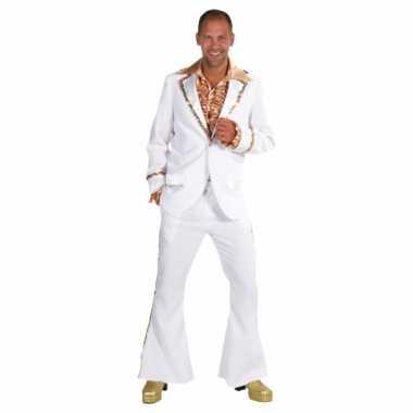 Witte seventies kostuum heren