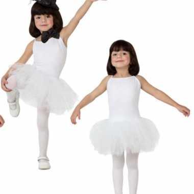 Witte tutu jurkje voor meisjes