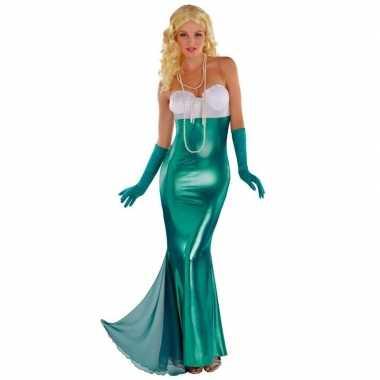 Zeemeermin/zeemeerminnen kostuum feestkostuum voor dames