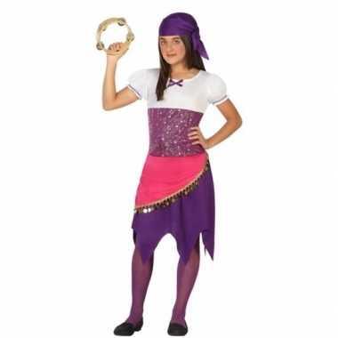 Zigeunerin esmeralda kostuum voor meisjes