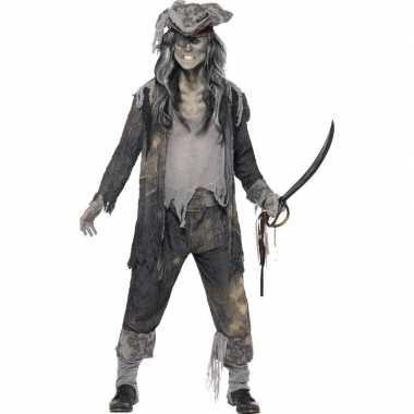 Zombie piraten kostuum voor heren