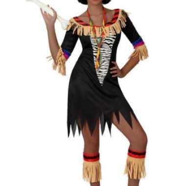 Zulu kostuum dames