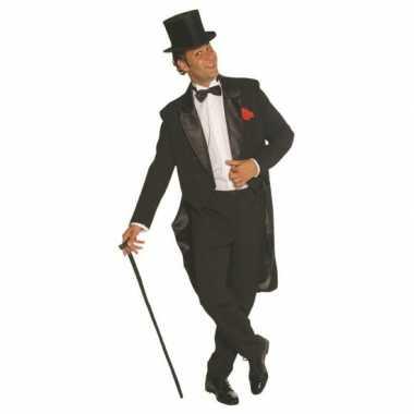 Zwart heren kostuum broek en jas