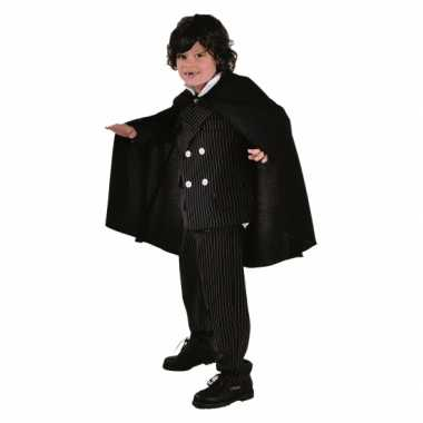 Zwarte cape voor kids