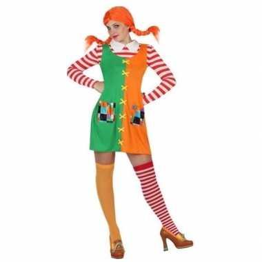 Zweeds sterk meisje kostuum voor dames