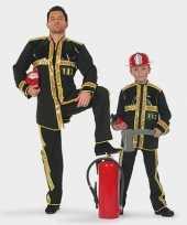 Kinder brandweer kostuum