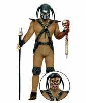 Monster kostuum met accessoires