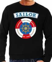 Zeeman sailor verkleed sweater zwart voor heren